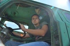Ung chaufför Royaltyfria Foton