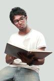 Ung deltagare Arkivfoto