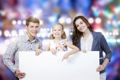 Ung familj Arkivbilder