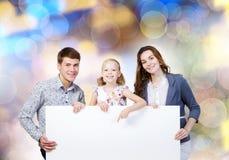 Ung familj Royaltyfria Bilder