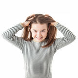 Ung flicka Arkivbild
