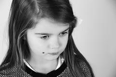 Ung flicka. Arkivbilder
