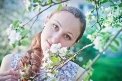 Ung flicka Fotografering för Bildbyråer