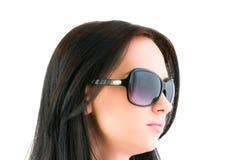 Ung flicka med solglasögon Royaltyfria Foton