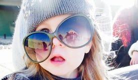 Ung flickastående Royaltyfri Fotografi