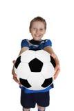 Ung fotbollsspelare Royaltyfri Bild