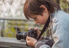 Ung fotograf Royaltyfri Foto