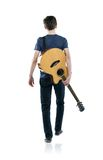 Ung gitarrspelare Royaltyfria Foton