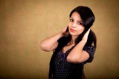 Ung härlig flicka Fotografering för Bildbyråer