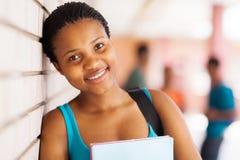 Ung högskolaflicka Arkivbilder