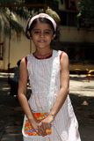 Ung indisk flicka Arkivbild