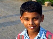 Ung indisk pojke Arkivbilder