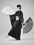 Ung japansk kvinna Royaltyfri Foto