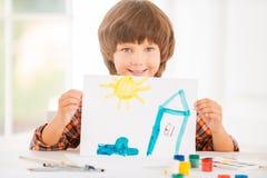 Ung konstnär Arkivfoton