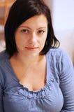 Ung kvinna Arkivfoto