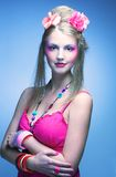 Ung kvinna Royaltyfri Fotografi