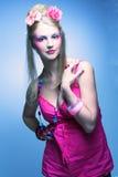 Ung kvinna Arkivfoton