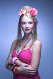 Ung kvinna Arkivbild