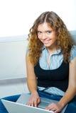 Ung kvinna Fotografering för Bildbyråer