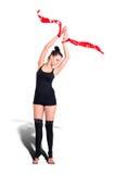 Gymnastkvinna Royaltyfri Fotografi