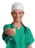 Ung kvinnadoktor Arkivfoton