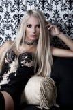 Ung kvinnligmodell   Royaltyfria Foton