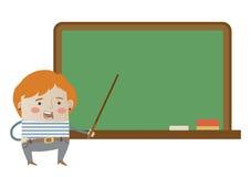 Ung lärare Arkivbild