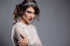Ung lady Royaltyfria Bilder