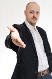 Manhandskakning Fotografering för Bildbyråer