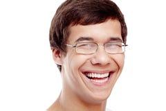 Ung man Headshot Arkivbild