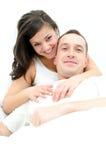 Ung man och kvinna Arkivfoton