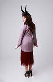 Ung modekvinna Arkivbild