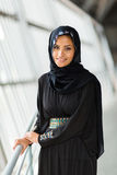 Ung muslimkvinna arkivfoto
