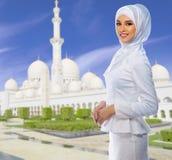 Ung muslimsk kvinna arkivbilder