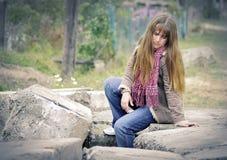 Ung och härlig flicka Royaltyfri Fotografi