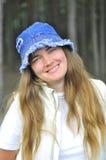 Ung och härlig kvinna Arkivfoton