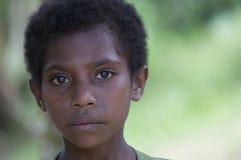 Ung Papuanflicka Arkivfoton