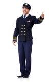Ung pilot royaltyfria bilder