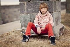 Ung pojke Arkivfoton