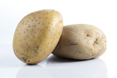 Ung potatis arkivfoton