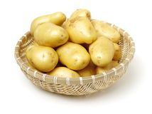 Ung potatis royaltyfria foton