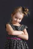 Ung söt flicka Royaltyfria Foton