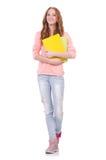 Ung student Arkivfoton