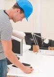 Ung tekniker Fotografering för Bildbyråer