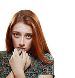 Ung tonårs- flicka Arkivfoton