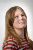 Ung tonårs- flicka Fotografering för Bildbyråer
