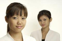 unga affärskvinnor Arkivbilder