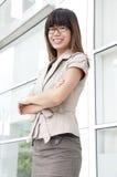 Unga affärskvinnor Fotografering för Bildbyråer