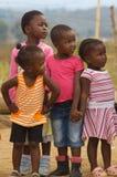 unga afrikanska flickor Arkivbild