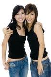 Unga asiatiska kvinnor Royaltyfria Bilder